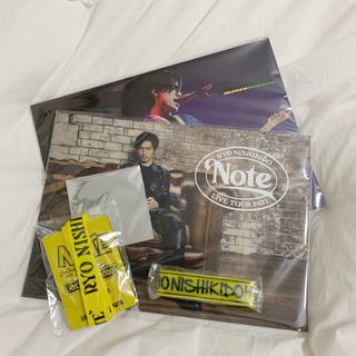 """カンジャニエイト(関ジャニ∞)の錦戸亮 LIVE TOUR2021 """"Note""""(ミュージシャン)"""