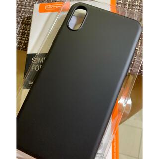 iPhone - turras iPhone XSケース【極薄マットBLACK.週末限定価格】