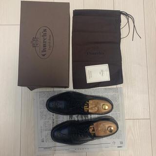 チャーチ(Church's)のChurch's BURWOOD BLACK 7.0 チャーチ 高級 革靴(ドレス/ビジネス)