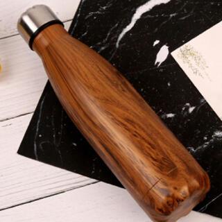 フランフラン(Francfranc)の木目のステンレスボトル☆新品 SALE中❣️(弁当用品)