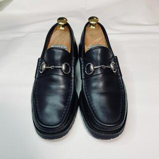 グッチ(Gucci)のGUCCI グッチ ホースビット ローファー 革靴 レザーシューズ(ドレス/ビジネス)