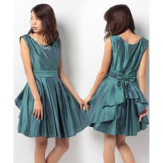 エルディープライム(LD prime)のエル ディー プライム リボンラップスカート付 Aライン(6L04‐K0(ウェディングドレス)