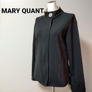 MARY QUANT - マリークワント ショート丈コート 黒 ジャケット a153