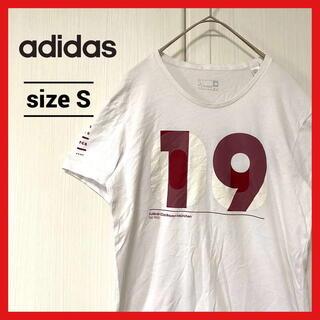 アディダス(adidas)の90s 古着 アディダス Tシャツ バイエルン 白 S(Tシャツ/カットソー(半袖/袖なし))