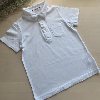 ミキハウス(mikihouse)のMIKIHOUSE collection 天竺 ポロシャツ 100(ドレス/フォーマル)
