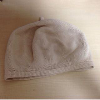ジルスチュアート(JILLSTUART)のジルバイジルスチュアート 帽子 ニット帽(ハンチング/ベレー帽)