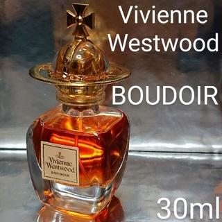 ヴィヴィアンウエストウッド(Vivienne Westwood)の【美品】ヴィヴィアンウェストウッド】ブドワール オードパルファム  30ml(香水(女性用))