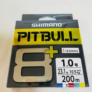 シマノ(SHIMANO)のシマノ ピットブル8+ LD-M61T 200m 1.0号 5カラー(釣り糸/ライン)
