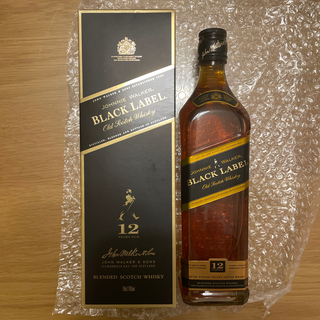 ジョニー ウォーカー 黒ラベル 12年40%700mlブレンデッドウイスキー(ウイスキー)