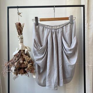 オキラク(OKIRAKU)の【値下げ】 OKIRAKU KBF スカート 美品/試着のみ(ひざ丈スカート)
