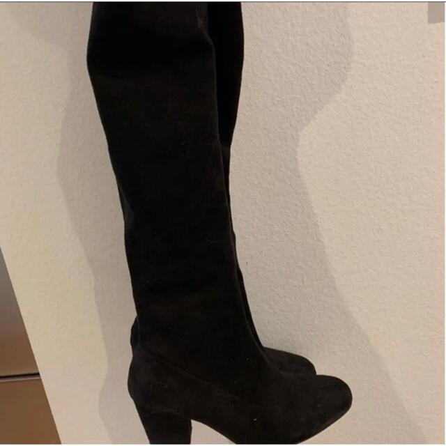 GRL(グレイル)のGRLニーハイブーツ ブラック レディースの靴/シューズ(ブーツ)の商品写真