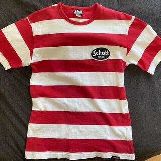 ショット(schott)のSCHOTT ボーダーTシャツ(Tシャツ/カットソー(半袖/袖なし))