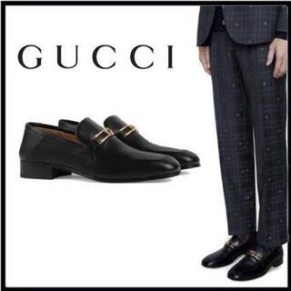グッチ(Gucci)の【美品】GUCCI ローファー 2020ss インターロッキングG(ドレス/ビジネス)