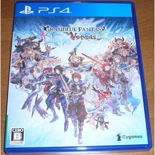 PlayStation4 - 未使用 PS4 グランブルーファンタジー ヴァーサス