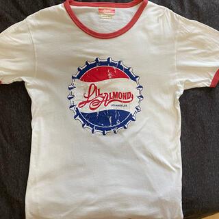 アーモンド(ALMOND)のLIL ALMOND コークモチーフTシャツ(Tシャツ/カットソー(半袖/袖なし))