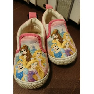ディズニー(Disney)のディズニープリンセス  14cm 靴(スニーカー)