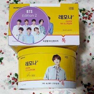 BTS レモナ缶 楕円 シュガ ユンギ 120包缶 韓国版 缶のみ(容器)