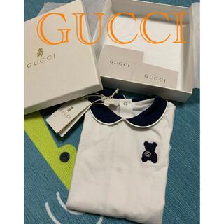 グッチ(Gucci)の値下げ【新品】GUCCI ロンパース  長袖(ロンパース)