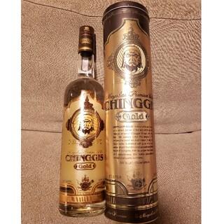 超希少!チンギス ゴールド ウォッカ 1L 『CHINGGIS GOLD』(蒸留酒/スピリッツ)