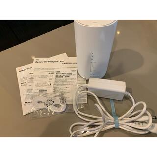 ファーウェイ(HUAWEI)のau Speed Wi-Fi HOME L01s  ルーター(PC周辺機器)