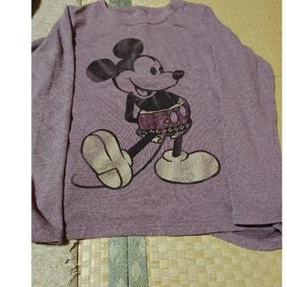 ディズニー(Disney)のミッキーマウス シャツ👕(シャツ/ブラウス(長袖/七分))