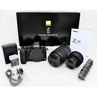 Nikon - 【新品級】Nikon Z50 ダブルズームキット 16-50 50-250mm