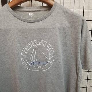 ヘリーハンセン(HELLY HANSEN)のHELLY HANSEN フロントプリント入り Aライン S/S Tee(Tシャツ(半袖/袖なし))