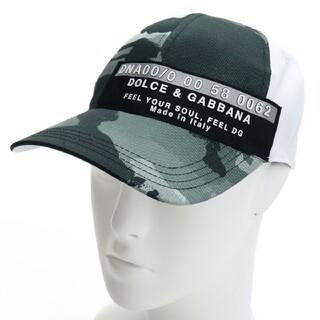 ドルチェアンドガッバーナ(DOLCE&GABBANA)のドルチェ&ガッバーナ GH590Z GEQ94 HH2QF 帽子 メンズ(キャップ)