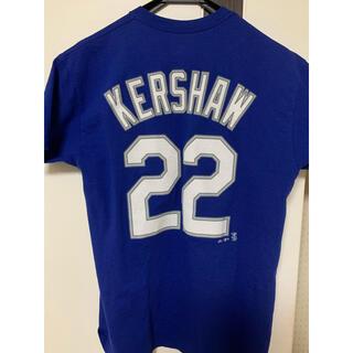 MLB ドジャース カーショウ選手 Tシャツ(Tシャツ/カットソー(半袖/袖なし))