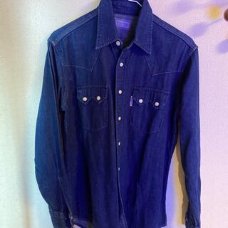 ブルーブルー(BLUE BLUE)のBLUE BLUEデニムシャツ(シャツ)