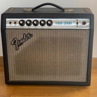 フェンダー(Fender)のfender vibro champ シルバーフェイス vintage (ギターアンプ)