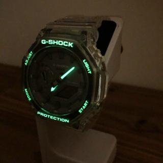 G-SHOCK - G-SHOCK GA2100 クリアベゼルバンドとストラップセット 夜光塗料