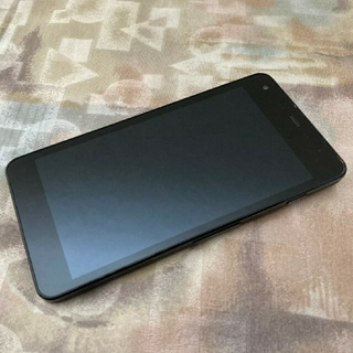 キョウセラ(京セラ)のsoftbank 602kc digno g ブラック 京セラ simフリー(スマートフォン本体)