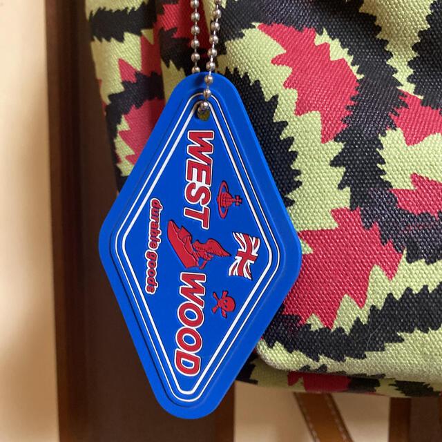 Vivienne Westwood(ヴィヴィアンウエストウッド)のヴィヴィアンウエストウッドスクイグル柄リュック レディースのバッグ(リュック/バックパック)の商品写真