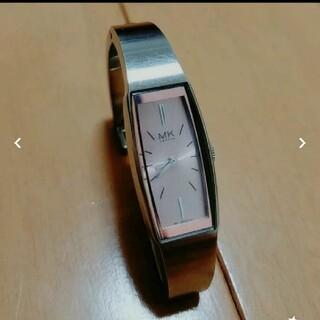 ミッシェルクラン(MICHEL KLEIN)のMK London シルバーウォッチ ピンク(腕時計)