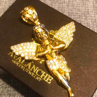 アヴァランチ(AVALANCHE)の特大サイズ AVALANCHE  10k イエロー ゴールド ペンダントヘッド(ネックレス)