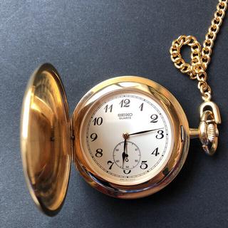 セイコー(SEIKO)の内閣総理大臣贈のセイコー懐中時計 ケースあり(金属工芸)