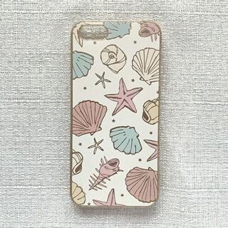 パサージュミニョン(passage mignon)の【未使用・美品】Iphone5/5s/SEケース 白 貝(iPhoneケース)