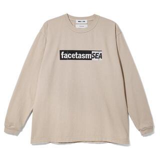 シー(SEA)の【Mサイズ】 facetasm  L/S Tshirt long sleeve(Tシャツ/カットソー(七分/長袖))