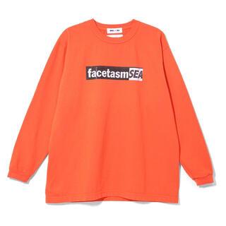 シー(SEA)の【Mサイズ】 facetasm  L/S Tshirt long sleeve (Tシャツ/カットソー(七分/長袖))