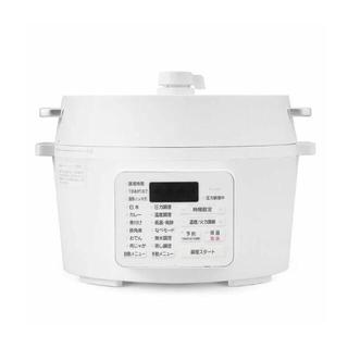 アイリスオーヤマ - 新品未使用 アイリスオーヤマ 電気圧力鍋 4L PC-MA4-W
