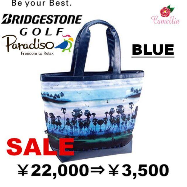 Paradiso(パラディーゾ)の新品 BRIDGESTONE ブリヂストン パラディーゾ トートバッグ BL スポーツ/アウトドアのゴルフ(バッグ)の商品写真