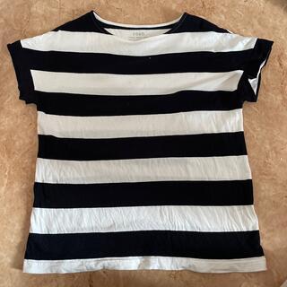 コーエン(coen)のcoen ボーダーTシャツ Mサイズ(Tシャツ/カットソー(半袖/袖なし))