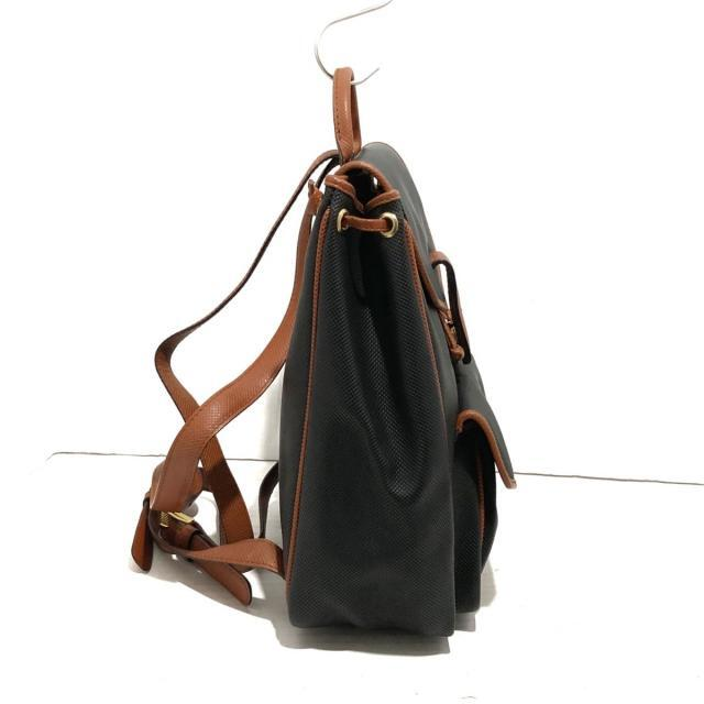 Bottega Veneta(ボッテガヴェネタ)のボッテガヴェネタ - 黒×ブラウン レディースのバッグ(リュック/バックパック)の商品写真