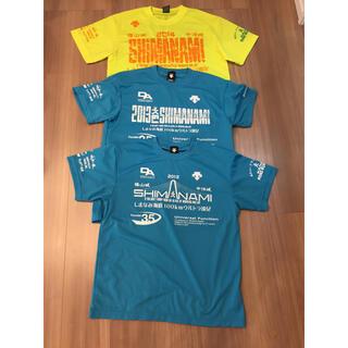 デサント(DESCENTE)のしまなみ海道100キロ Tシャツ 3枚セット デサント(Tシャツ/カットソー(半袖/袖なし))