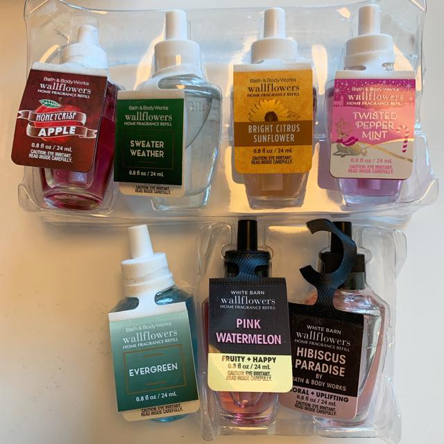 Bath & Body Works(バスアンドボディーワークス)の【新品】バスアンドボディワークス ウォールフラワー リフィル 1点 コスメ/美容のリラクゼーション(アロマポット/アロマランプ/芳香器)の商品写真