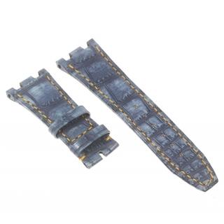 オーデマピゲ(AUDEMARS PIGUET)のオーデマ・ピゲ 革ベルト ラグ幅23mm ブルー   メンズ 【中古】(レザーベルト)