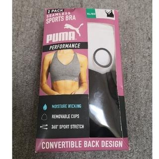プーマ(PUMA)のPUMA スポーツブラ XL 2枚セット(ブラ)