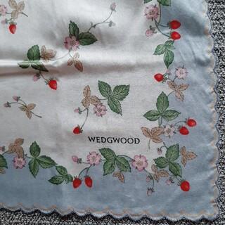 WEDGWOOD - WEDGWOOD ワイルドストロベリー ハンカチ