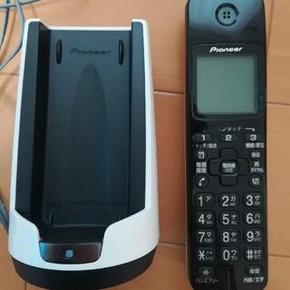 パイオニア TF-FD15S デジタルコードレス電話機 ホワイト 白 TF-FD